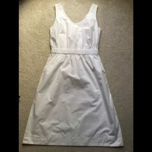 Gap white sleeveless dress